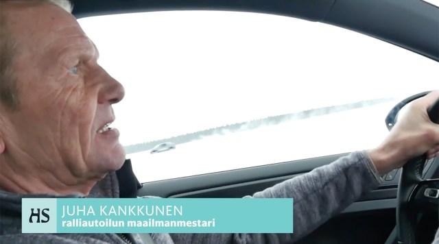 Juha Kankkunen lõpetas joomise ja õpetab turistidele autosõitu