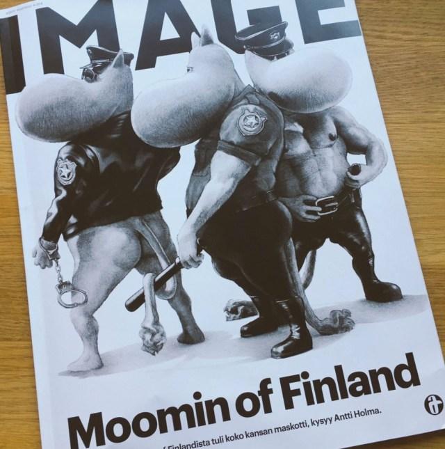 Soome ajakiri ühendas Muumid ja Tom of Finlandi