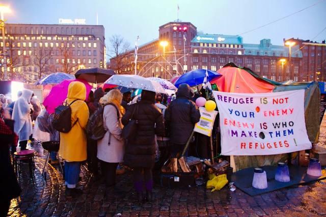 Karm tõde: pagulased läksid massiliselt Soome peaministri kutse peale