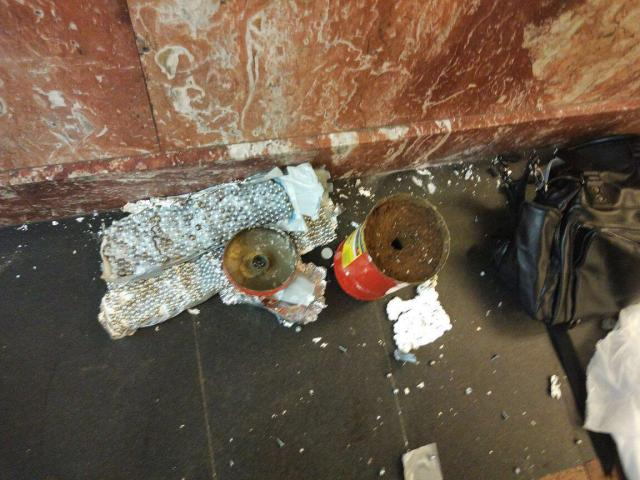 Peterburi metroost leiti veel üks pomm