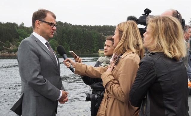 Peaminister Juha Sipilä saabub 10. juunil Tallinna