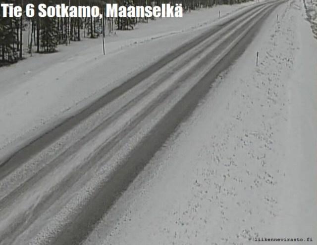 Soomes on ikka veel paks lumi maas