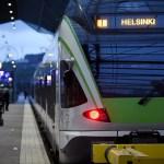 Helsingis on rongiliiklus rööpavea tõttu häiritud