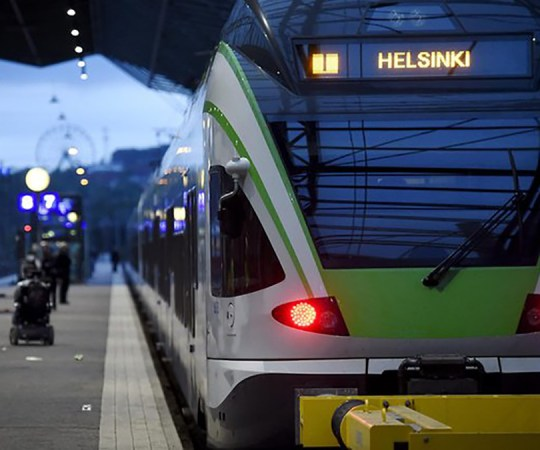 KUUM: Helsingis peatus täielikult rongiliiklus