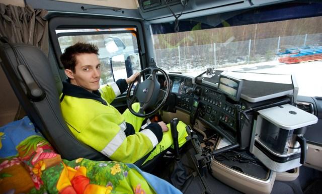 Päeva leid: kuorma-auton kuljettaja