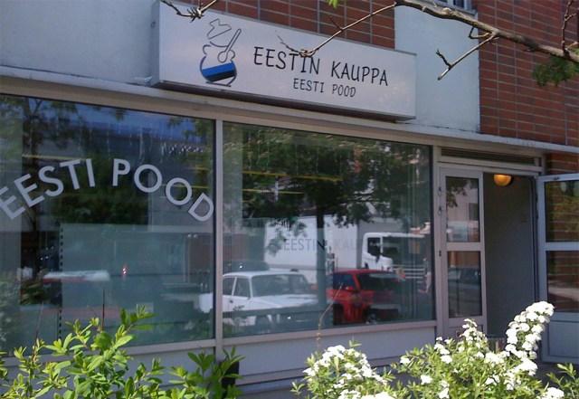 Helsingi piirkonnas on avatud mitu Eesti toodete poodi