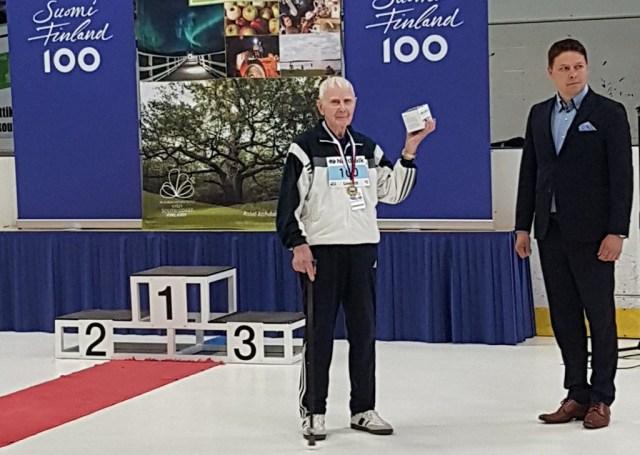 100-aastane Soome sportlane püstitas uue Euroopa rekordi