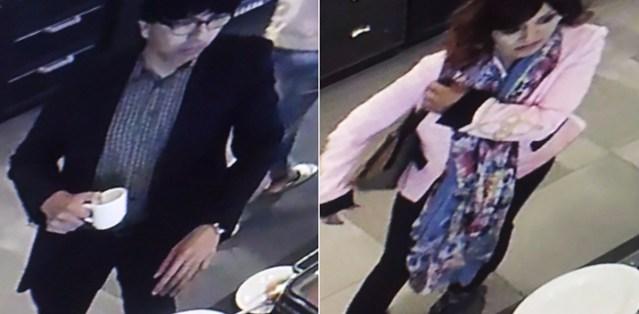 Helsingi hotellis varastati hommikusöögilauas naiselt käekott, politsei otsib vargaid