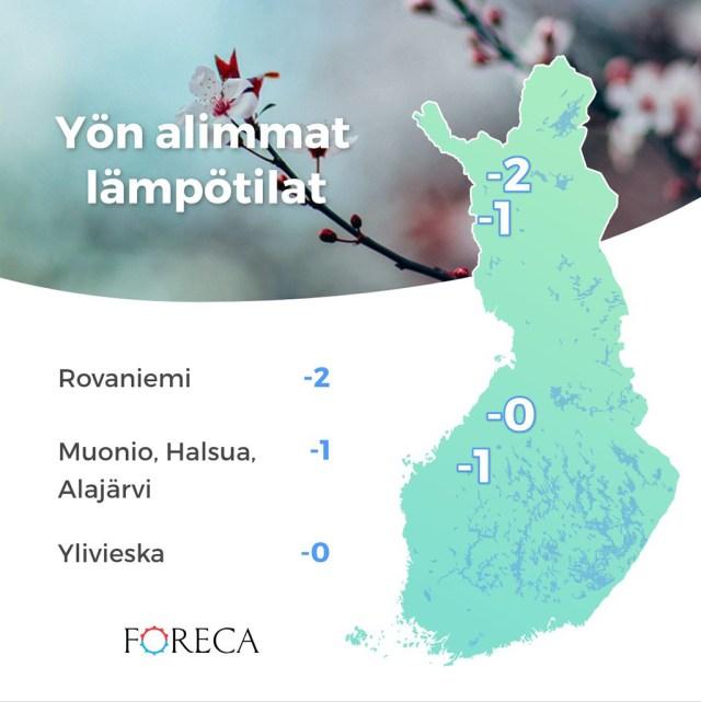 Soomes oli jälle öökülma