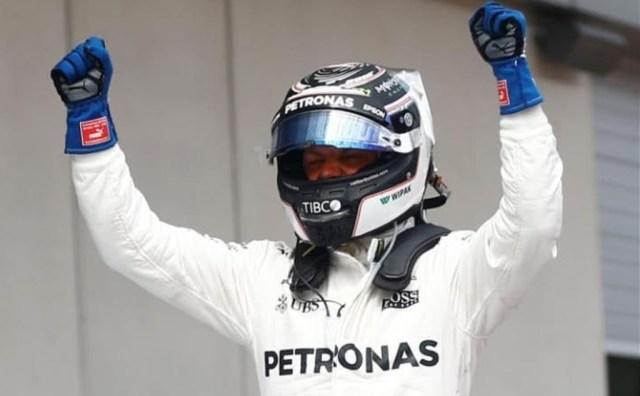 Valtteri Bottas võitis teise Vormel-1 etapi