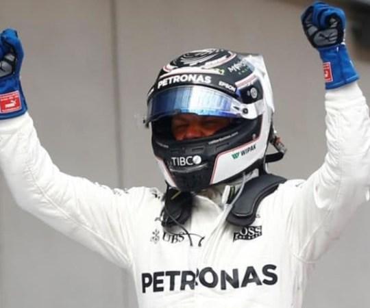 Soomlane Bottas võitis F-1 etapi Sotšis
