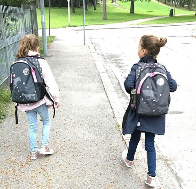 Värske uuring: jalgsi kooli kõndivate laste õpiedukus on parem