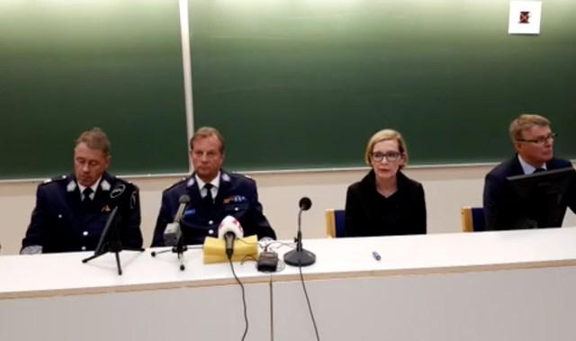 Minister Risikko: ründaja oli välismaalane