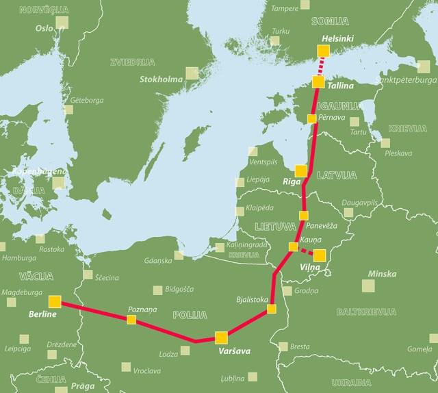 KUUM: Soome peatas osaluse Rail Balticas peale ettevõtte kohta tehtud analüüsi, Tallinna-Helsingi tunneli plaani peetakse ebarealistlikuks