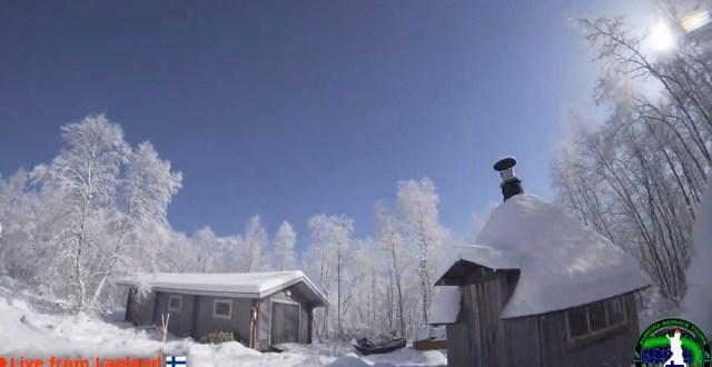 Arvatav meteoriit lõi Lapimaal maa üleni valgeks