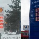Ajalooline hetk: Eestis kerkis kütuse hind kõrgemale kui Soomes