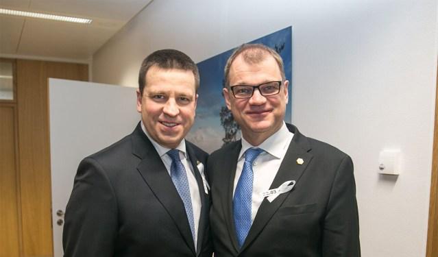 Eesti ja Soome valitsused peavad Tallinnas ühisistungi