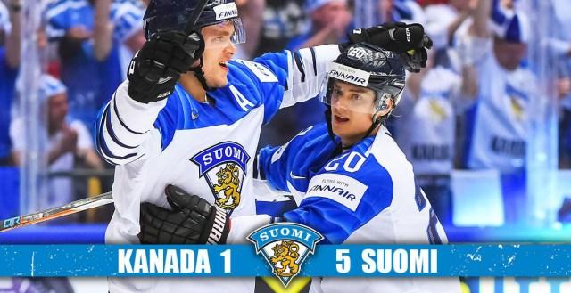 Vapustav tulemus! Leijonat purustas hoki MM-il Kanada 5:1!
