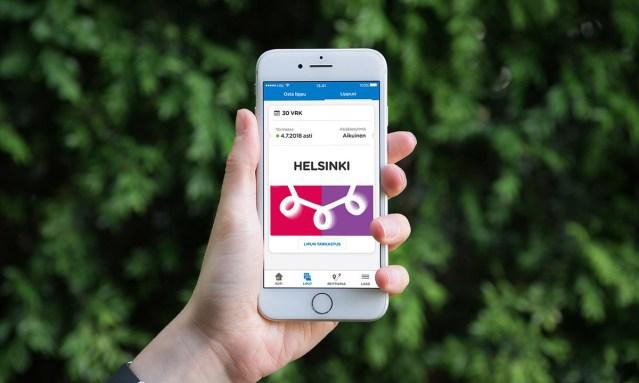 Helsingis saab nüüd osta 30 päeva ühistranspordi mobiilipileti