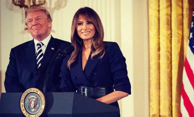 USA president asus mässava prantsuse rahva poolele