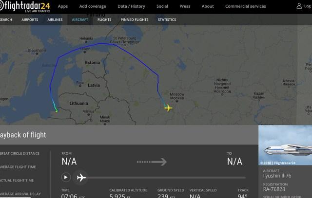 Enne Putini lennukit sõitis Soome lahe kohal suur Vene luurelennuk
