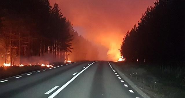 Rootsis on puhkenud uued metsatulekahjud, olukord kontrolli alt väljas