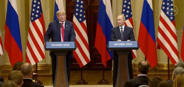 Putin, Trump: Kohtumine oli edukas, Külm sõda on möödanik