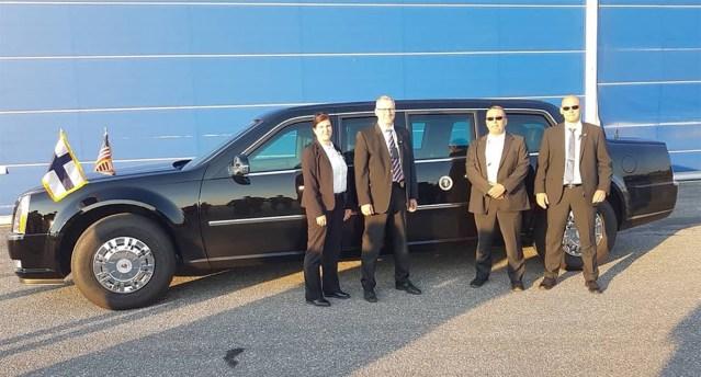 Soome politseinikud aitasid USA presidenti turvata