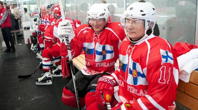 Soome ja Vene presidendid kohtuvad augusti lõpus Sotšis, kavas ühine jäähokimatš
