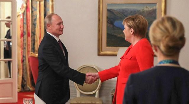 Merkel ja Putin leppisid kokku uue kohtumise Ukraina osas