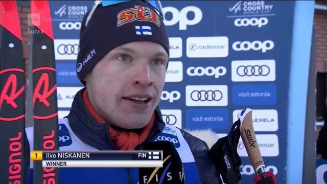 Otepää suusatamise MK-etapi 15 km distantsi võitis soomlane Iivo Niskanen