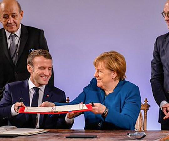 Merkel ja Macron panid täna aluse Euroopa armeele