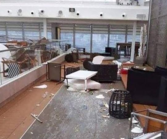 KOHUTAV: Pildid Norra kruiisilaeva sisemusest näitavad, mis olukord laeval valitses