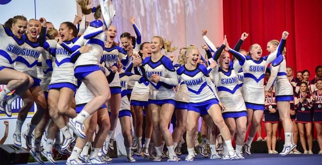 Soome võitis taas cheerleaderite MM-i