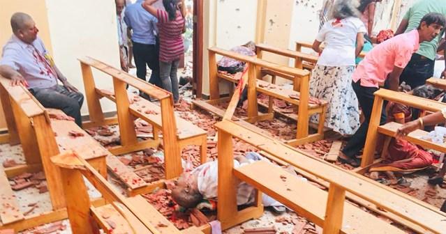 HIRMSAD PILDID JA VIDEO: Sri Lankal rünnati kirikuid ja hotelle, vähemalt 200 hukkunut (NB! Nõrganärvilistele mittesoovitav!)