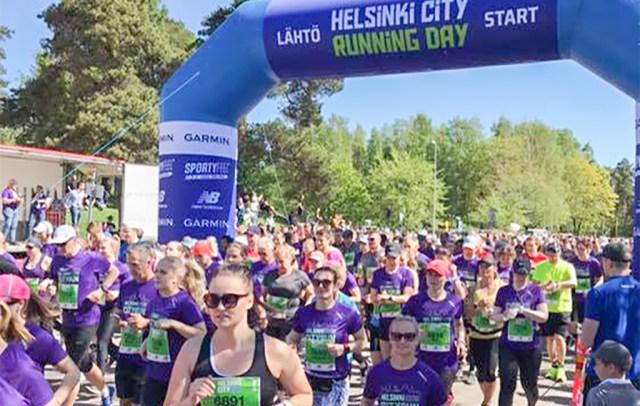 Helsingis joosti täna poolmaratoni, Iivo Niskanen eksis rajale ära