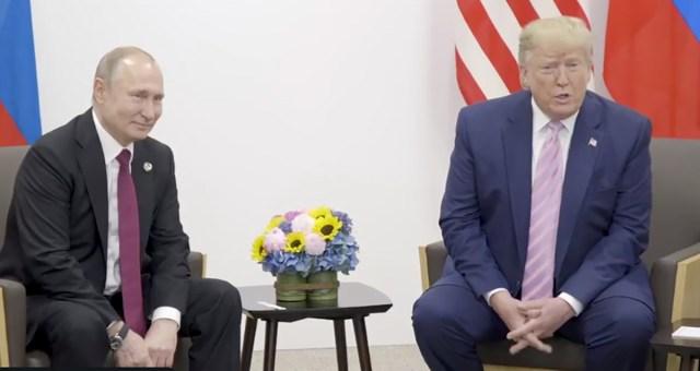 Trump ja Putin kohtusid täna Jaapanis