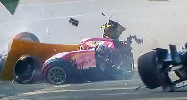 Šokeeriv õnnetus F2 sarjas – auto murdus keskelt pooleks, üks võistleja hukkus (lisatud video)