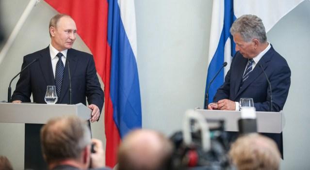 President Putin tuleb järgmisel nädalal visiidile Soome