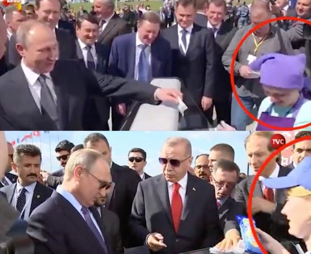 Ootamatu avastus: Putinil on isiklik jäätisemüüja