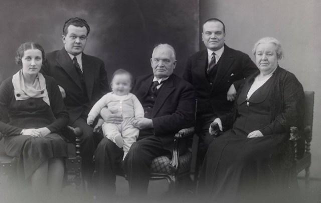 Soomes varjati sõja ajal Eesti presidendi poega