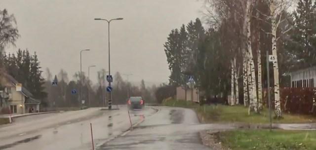 Ettevaatust: Soome lõunaosas sajab lund, teed on libedad