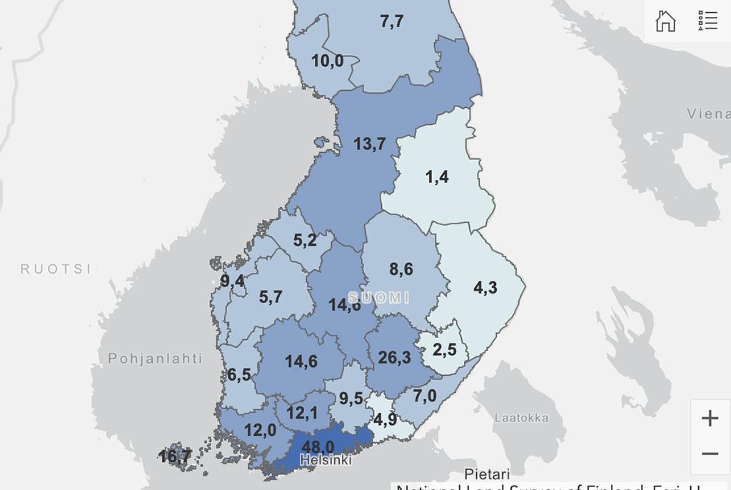 Põhjalikum Soome koroona-info