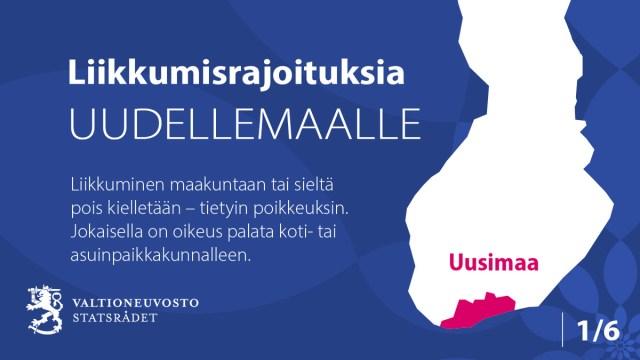 KUUM: Helsingi ja selle ümbrus pandi keskööl lukku