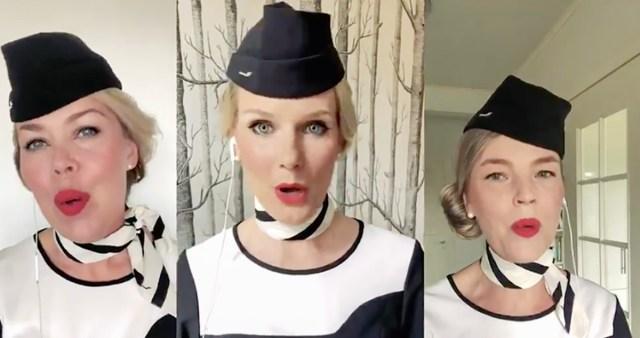 Meeleolukas video: Finnairi koor soovib ilusat volbrit