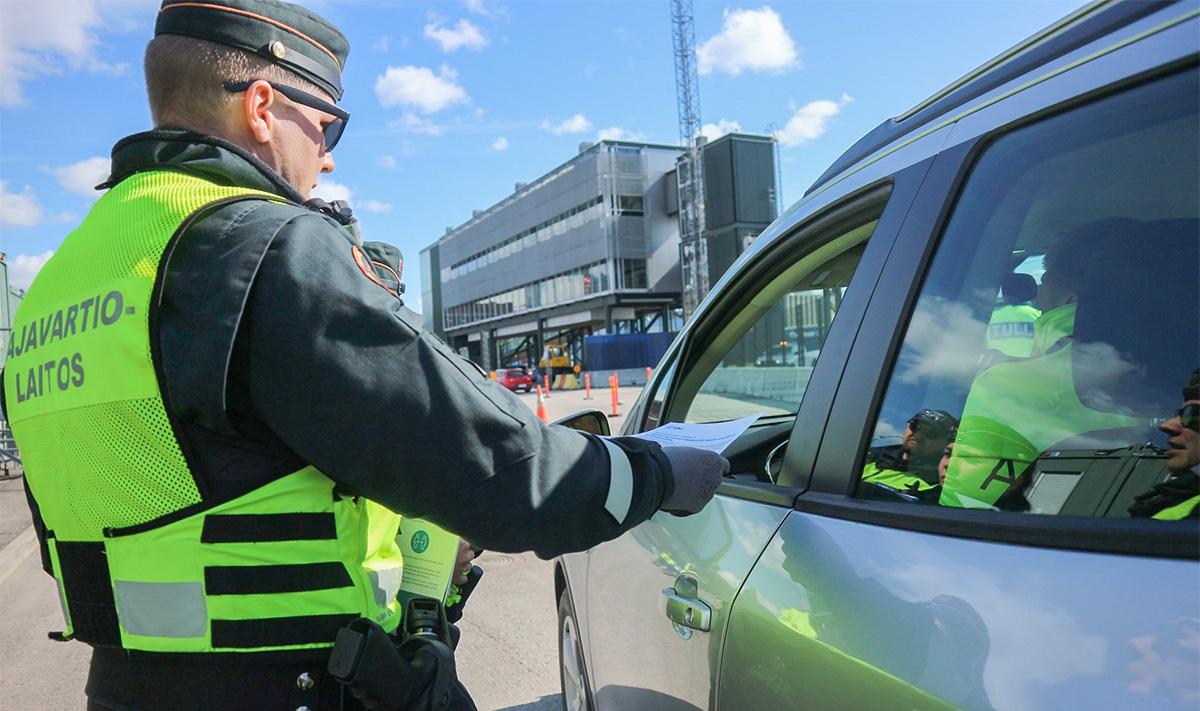 Soome piirivalve info piiriületuse võimaluste kohta