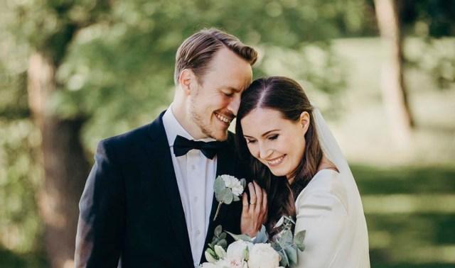 Soome peaminister abiellus