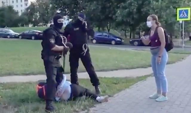 Karm video olukorrast Valgevenes, kuidas õiendatakse arveid inimestega (NB! Nõrganärvilistele mittesoovitav)
