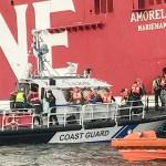 Soome piirivalve edastas pildi ja video reisijate evakueerimisest Amorellalt – seda tehti väikeste laevadega