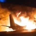 Kole lugu: Ukrainas kukkus alla sõjaväe lennuk, 27 said surma ja ainult üks mees jäi ellu (lisatud video)